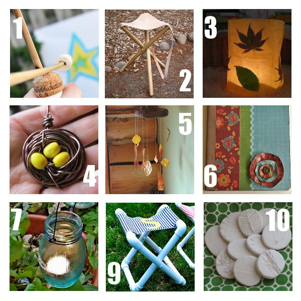 Camping Crafts Link Love