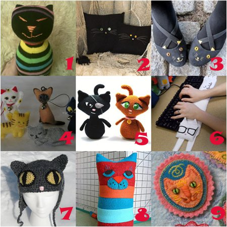 cat crafts Link Love: The Cats Meow