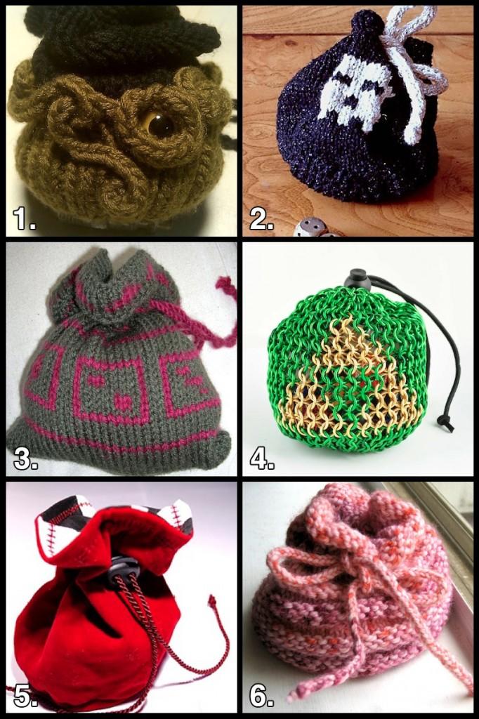 Geek Crafts Diy Dice Bag Roundup Favecrafts