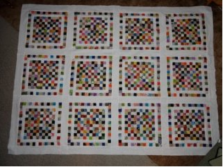 Hundred Patch Charm Quilt