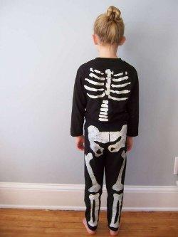 skeleton 8 Fun and Simple Halloween Costume Ideas