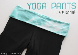 yoga pants 300x214 National Sewing Month 2012: Yoga Pants Tutorial