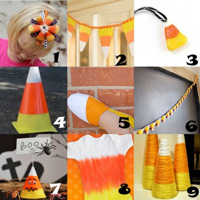 candy corn link love Link Love: Super Sweet Candy Corn Crafts