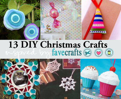 13 Christmas Crafts Inspired by FaveCrafts