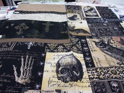 Nevermore collection by Gillian Fullard for Michael Miller Fabrics