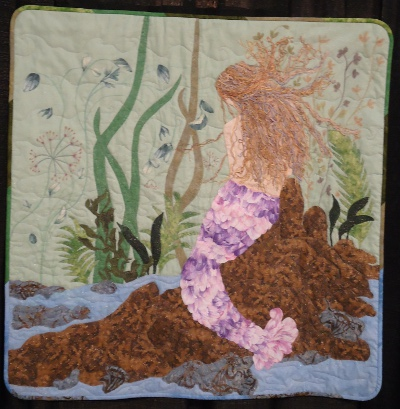 Belle Rose de la Mer quilt by Beverly Powell