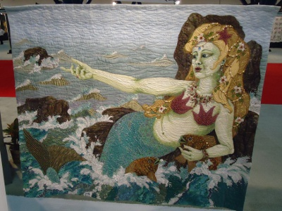 The Siren's Song quilt by Thoma Atleins