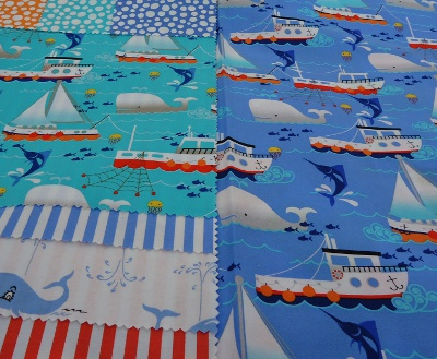 Swim Free from the It's A Boy Thing collection from Michael Miller