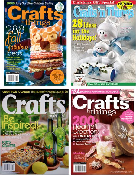 crafts n things magazine1 FaveCrafts Giveaway:  4 Year Subscription to Crafts nThings Magazine