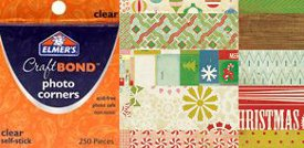elmer crate AllFreeChristmasCrafts Giveaway: Crate Paper Scrapbook Pages and Elmers Craft Bond Photo Corners