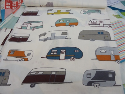 Camper Rally from the Camp Sur collection from Birch Fabrics