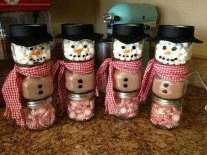 Hot Chocolate Snowmen