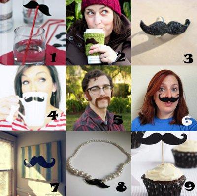 link love mustache crafts2 Link Love: Mustache Crafts