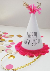 party hat 210x300 New Years Eve Kids Crafts to Celebrate and Organize