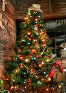 westerntree 214x300 Planning Your Christmas Tree Theme with Pinterest