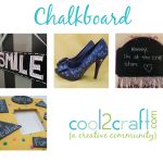 Chalkboard 1-14-13 Cool2Craft TV