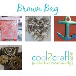 Cool2Craft TV Brown Bag 4 up