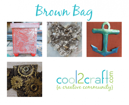 Cool2Craft TV Brown Bag 4 up