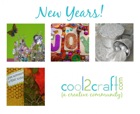11 17 12 New Years 4 up e1354493120549 Crafts for New Years! Cool2Craft TV