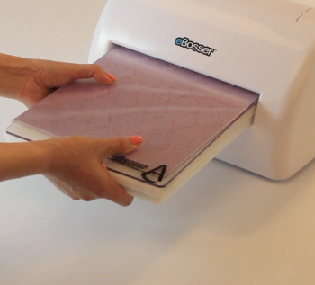 Feeding Via Front Last Chance: Save Big on Craftwell eBosser Automatic Embosser & Die Cutter