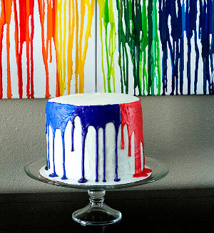 crayon cake Trendtastic: Melted Crayon Art and Other Crayon Crafts for Kids