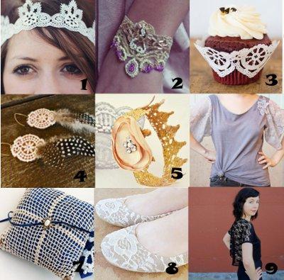 link love lace Link Love: Elegant Lace Crafts