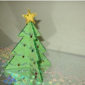 3D Pop Up Christmas Tree