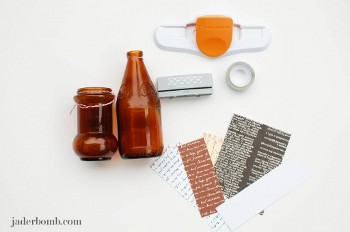 13 How to Decorate Glass Bottles With Fiskars Border Punches