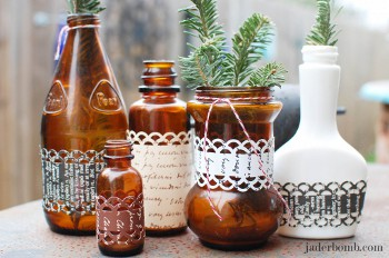 51 How to Decorate Glass Bottles With Fiskars Border Punches