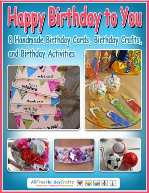 Happy Birthday to You eBook 300W Get Your Own Party Planning Partner with the New Birthday Crafts eBook