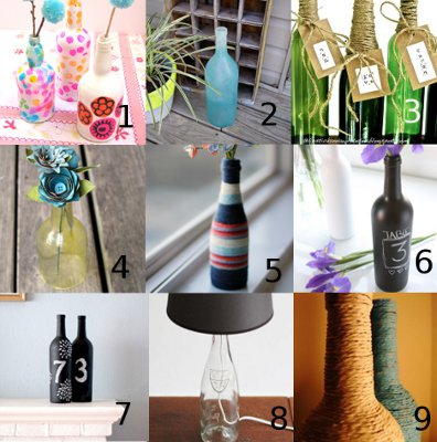 link love wine bottle Link Love: Crafting With Empty Wine Bottles