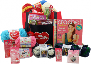 Red Heart National Craft Month Prize Package