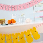 Peeps Bunting Craft Tutorial