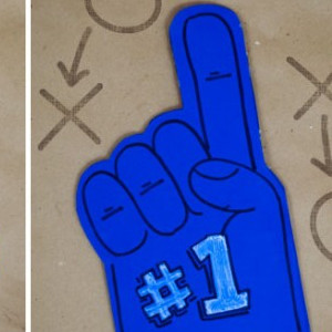 Go Team Foam Finger