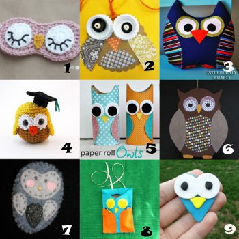 link love owl crafts Link Love: Owl Crafts