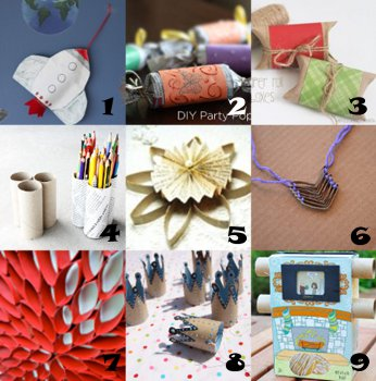 link love toilet paper roll crafts Link Love: Toilet Paper Roll Crafts