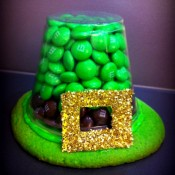 St. Patrick's Day Kids Craft Edible Hat