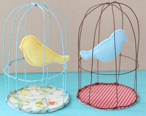 Whimsical Spring Birdcages Favecrafts Com