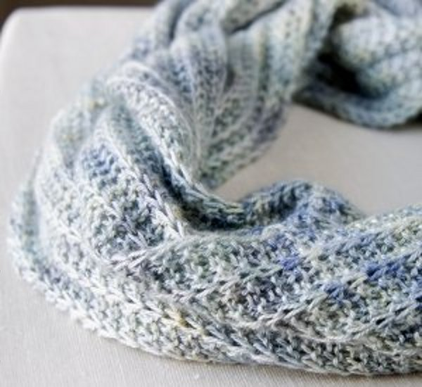 Cool Breeze Infinity Cowl National Craft Month Project Giveaway