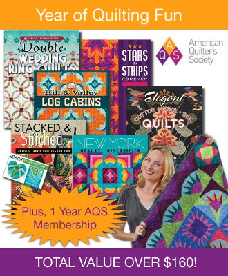 A Year of Quilting Fun from the American Quilter's Society