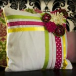 Easy-Ribbon-Pillow-Tutorial