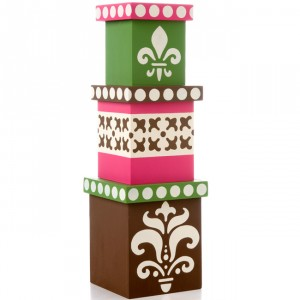 Fresh and formal Stacking Boxes