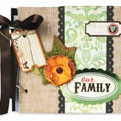 Burlap Family Album