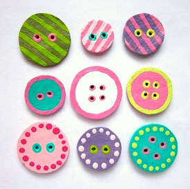 charming egg carton buttons 20+ Crafts for Kids to Make from Recycled Items