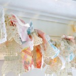 Darling Vintage Knotted Garland