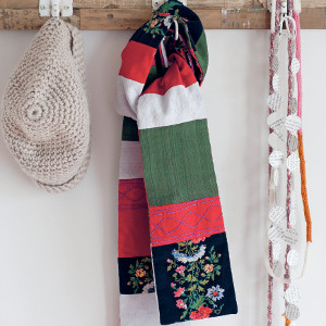 Easy Patchwork Scarf