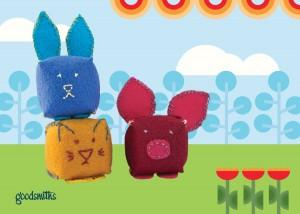 Mod Lil Animal Pincushions