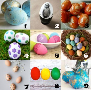 link love eggs Link Love: Easter Egg Crafts