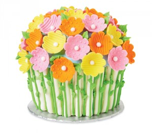 mi1047432 300x264 Blooming Bouquet Giant Cupcake Cake: National Craft Month Project & Giveaway