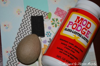 mod podge 3 Ways to Decorate Easter Eggs: Switch It Up This Year